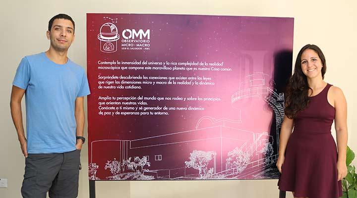 Proyecto Acoge a un Científico visitó Observatorio Micro Macro de la UDB