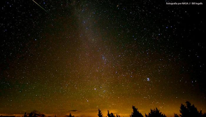 Una lluvia de estrellas es realmente una lluvia de meteoritos